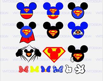 Mickey superman svg - Mickey superman logo svg - Mickey superman clipart -  Mickey superman logo