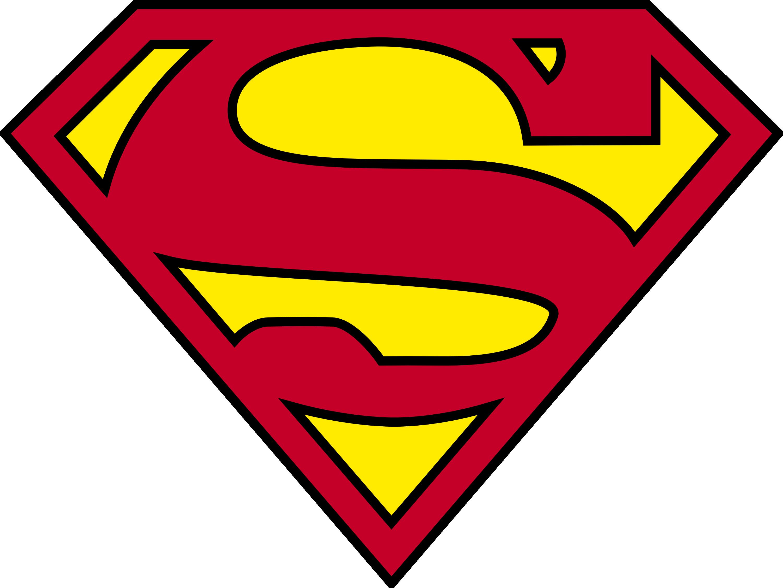 Superman Logo Png File PNG Image