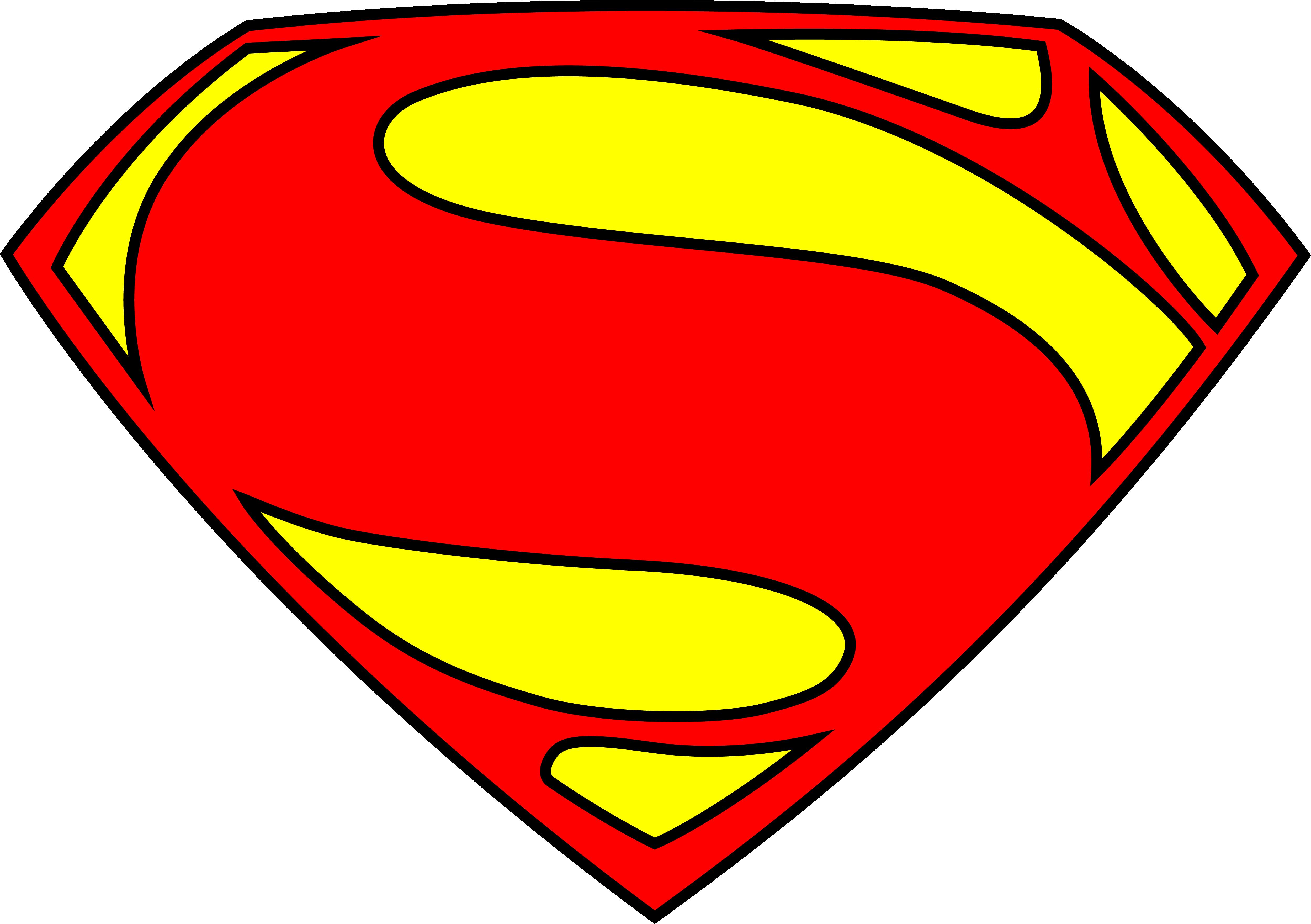Superman Logo Transparent PNG Image