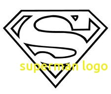 Superman Symbol Outline - Superman Logo Clipart