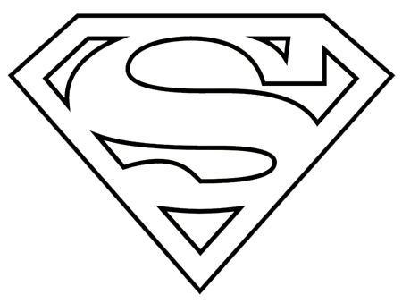 Use this logo! Superman Logo Black And White Clipart | James - Superhero  Costumes | Pinterest | Superman logo, Logos and Black