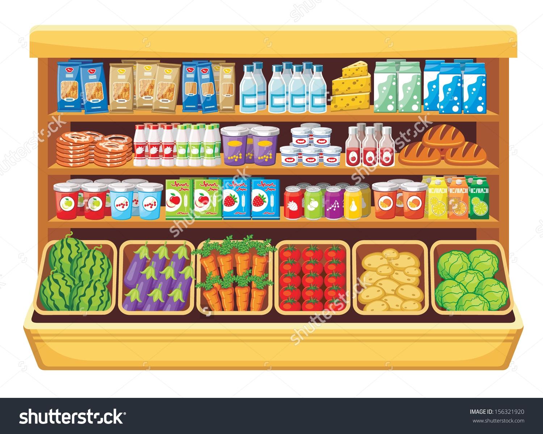 Supermarket ... Clip art .