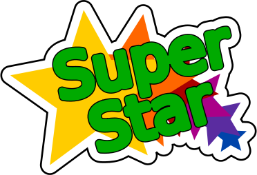 superstar clipart