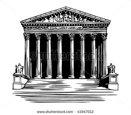 Supreme Court Building In Washington Dc -Supreme Court Building In Washington Dc Stock Vector Illustration-3