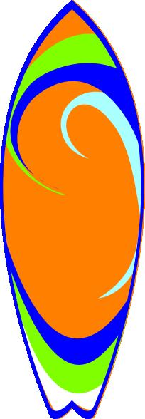 Surfboard Clip Art Vector Clip Art Online Royalty Free Public Hd