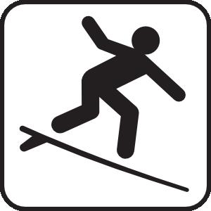 Surfing White Clip Art-Surfing White Clip Art-13