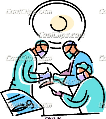 Surgery Clipart Doctors In Surgery Coolclips Vc109214 Jpg
