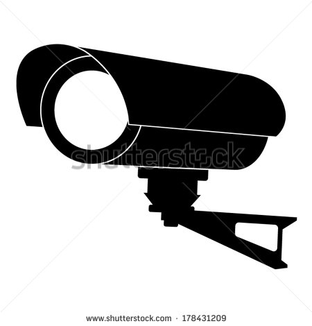 Surveillance Camera Clip Art-Surveillance Camera Clip Art-10