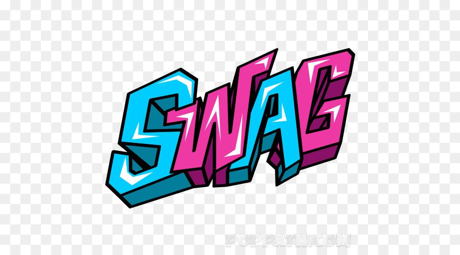 Graffiti Drawing Art Clip art - swag - Swag PNG