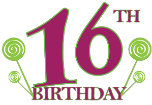 ... Sweet 16 Birthday Clipart ...