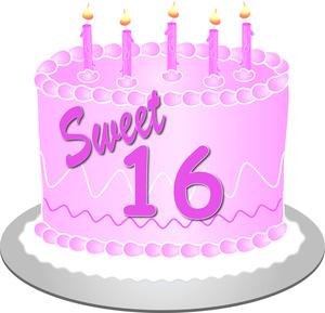 Sweet Sixteen Clip Art Images - Sweet 16 Clip Art