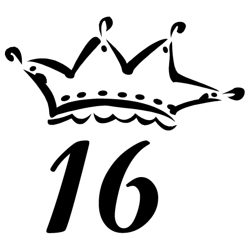 Sweet Sixteen Crown Clipart Cliparthut Free Clipart