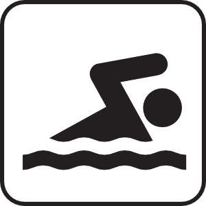 Swimmer swim team free clipart kid