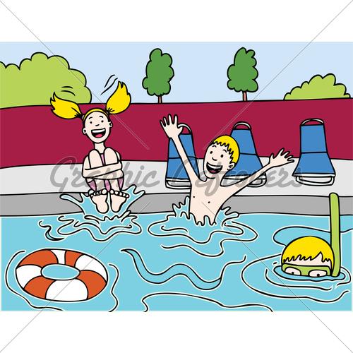 swimming party clipart-swimming party clipart-19