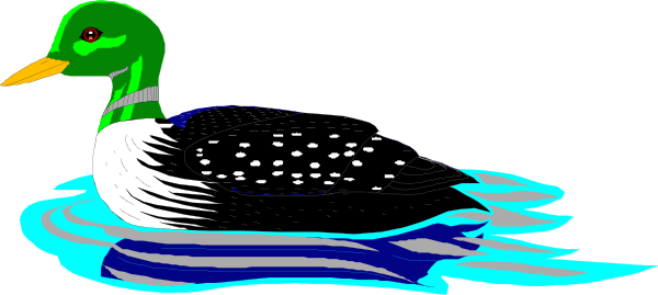 Swimming Loon Clip Art At Clker Com Vect-Swimming Loon Clip Art At Clker Com Vector Clip Art Online Royalty-18