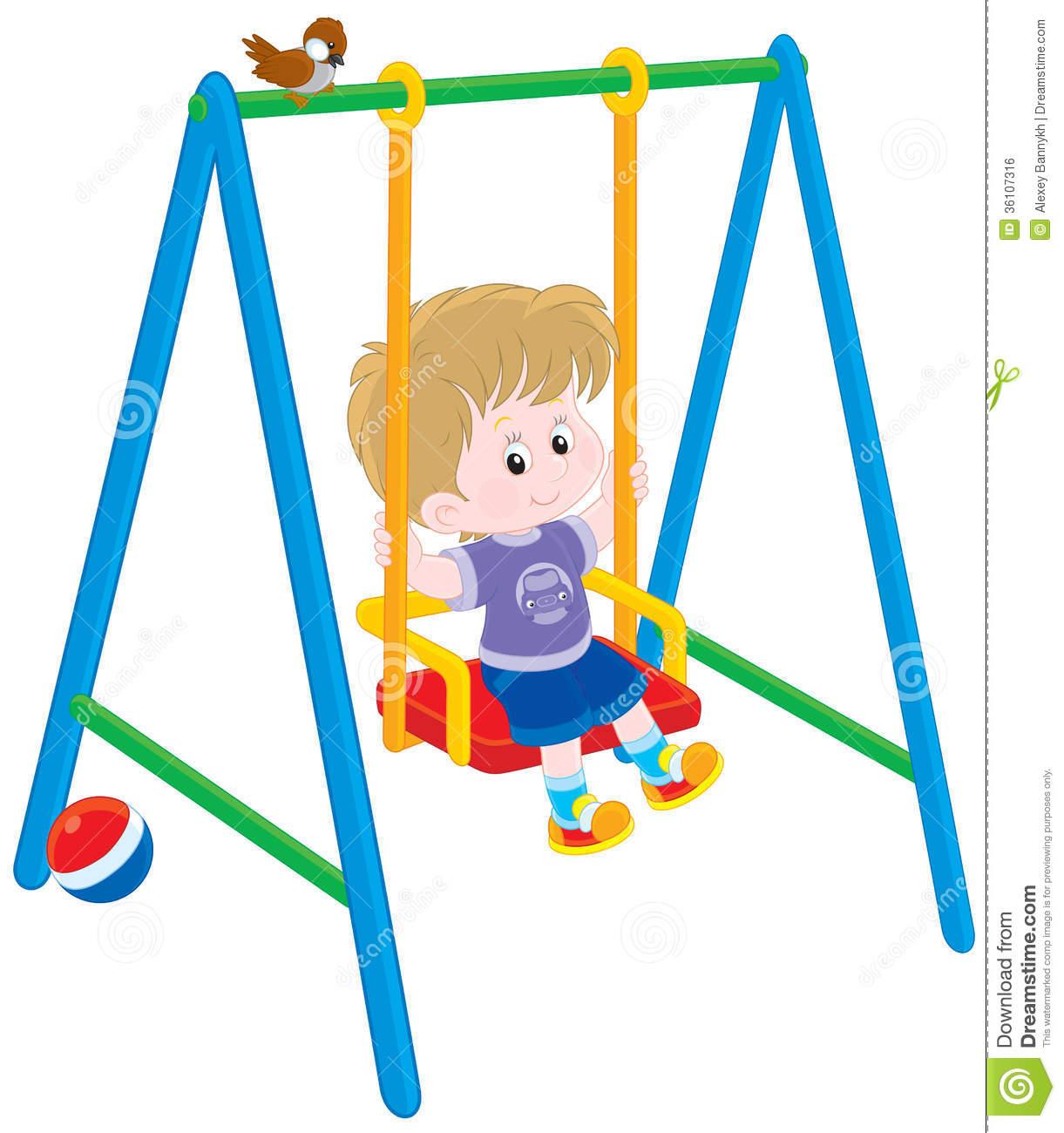 Swing Set Clip Art