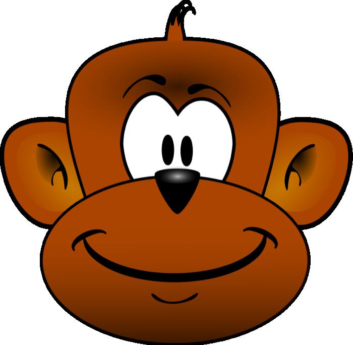 swinging monkey clipart black and white-swinging monkey clipart black and white-16