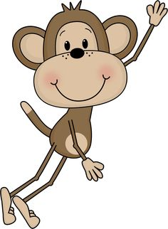 Swinging Monkey Clipart - Free Clip Art Images .