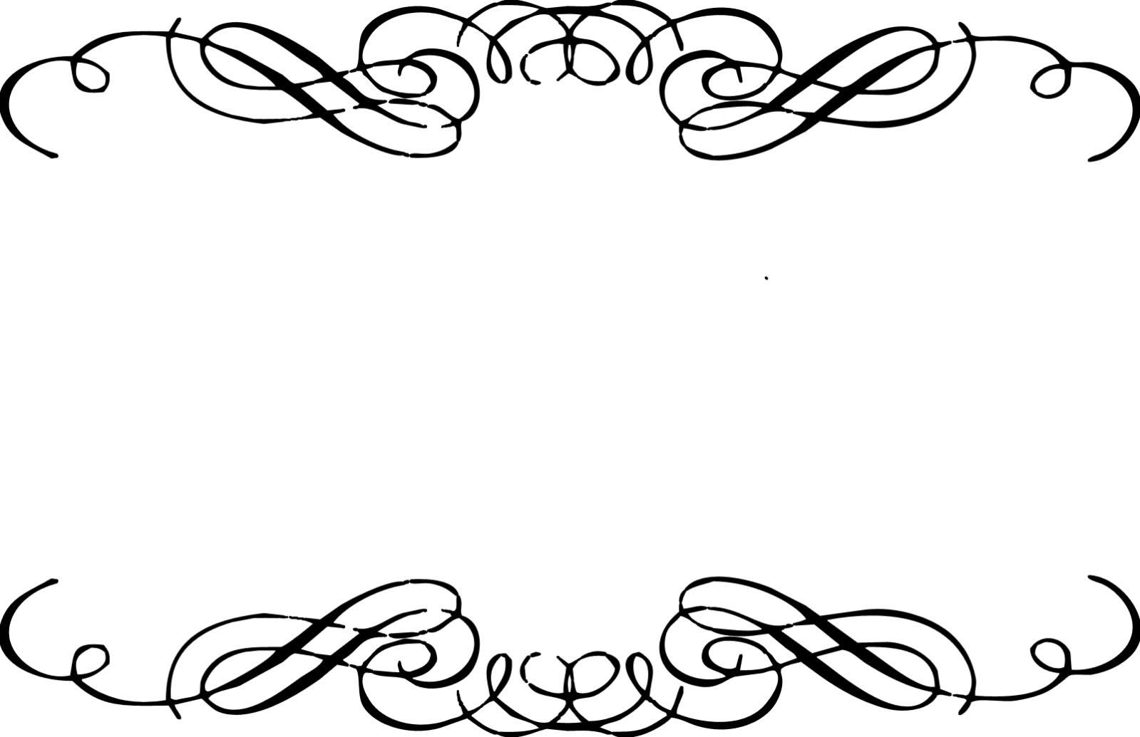 swirl border clipart - Free Clip Art Borders