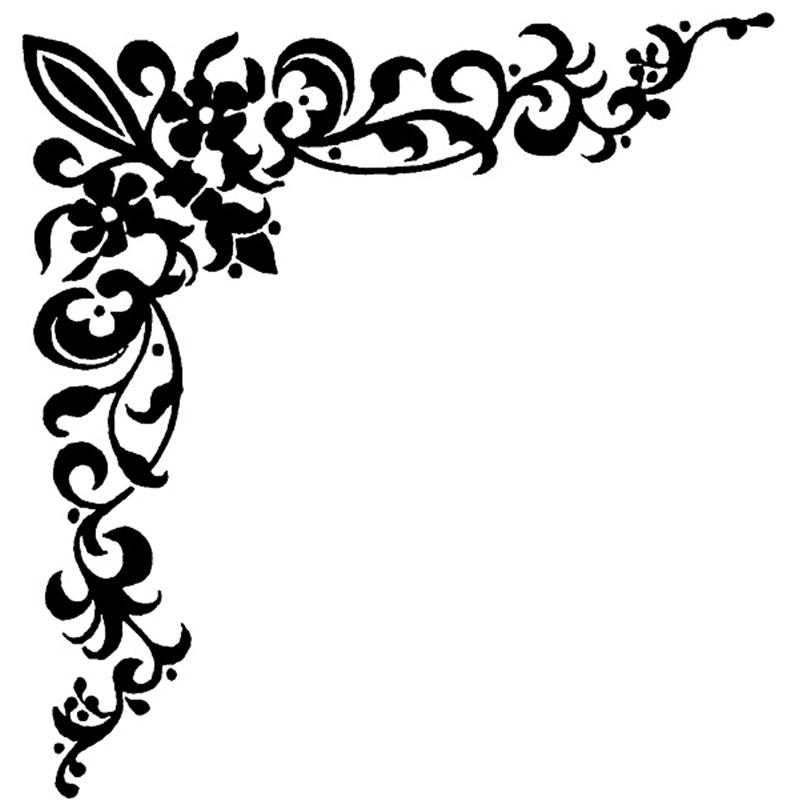 Swirl Border Clip Art-Swirl Border Clip Art-6