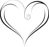 Swirly Heart Clipart-Swirly Heart Clipart-6