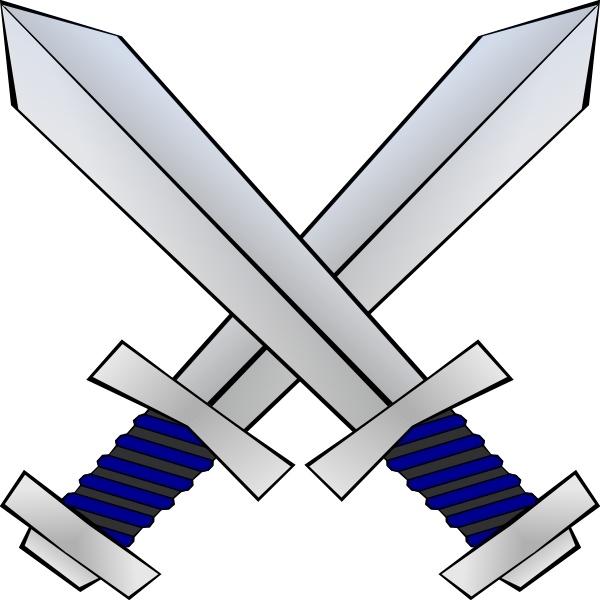 Crossed Swords clip art