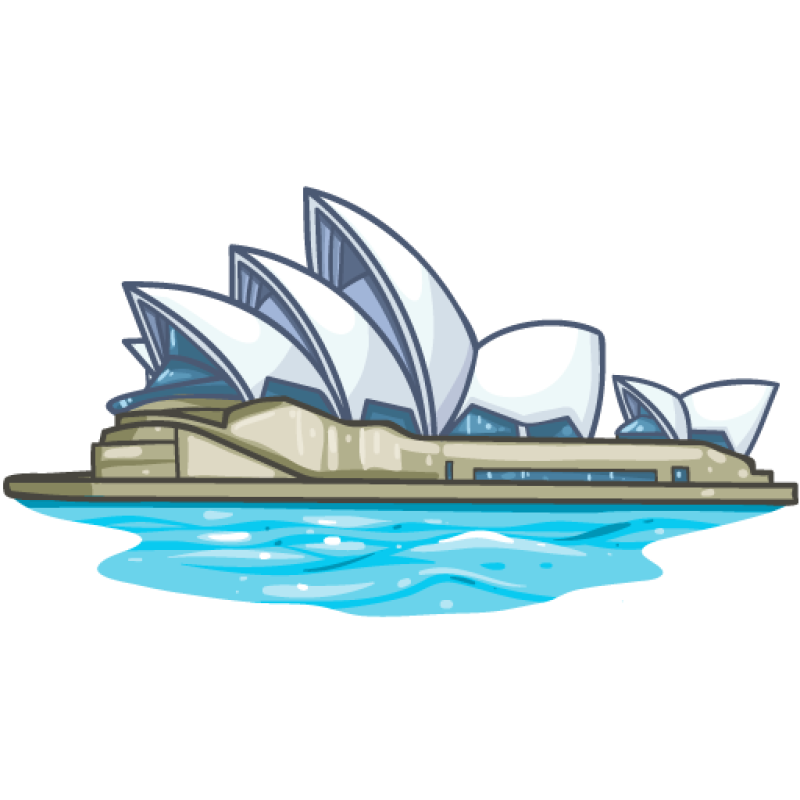Clipart Opera House Sydney OurClipart