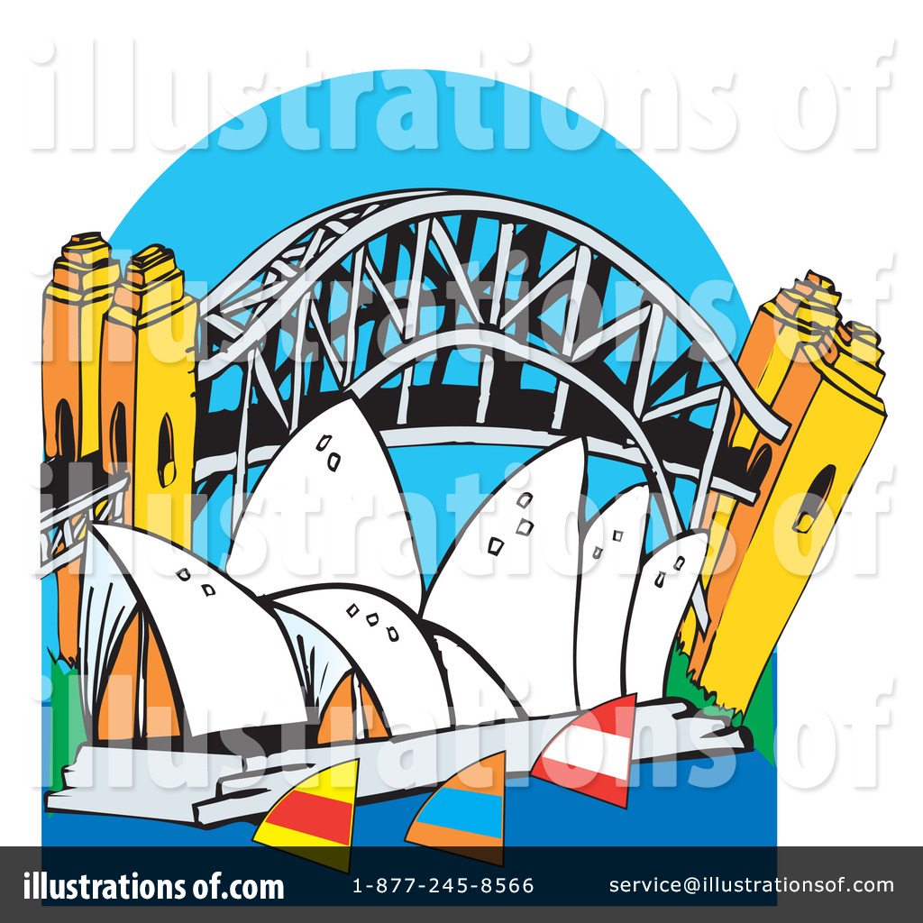 Royalty-Free (RF) Sydney Clipart Illustration by Dennis Holmes Designs -  Stock Sample