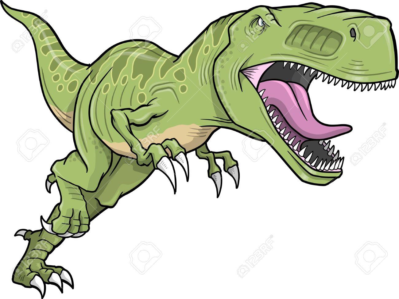 T-Rex Dinosaur Stock Vector - .-T-Rex Dinosaur Stock Vector - .-17