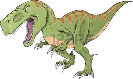 t rex: Tyrannosaurus Dinosaur Illustration Art