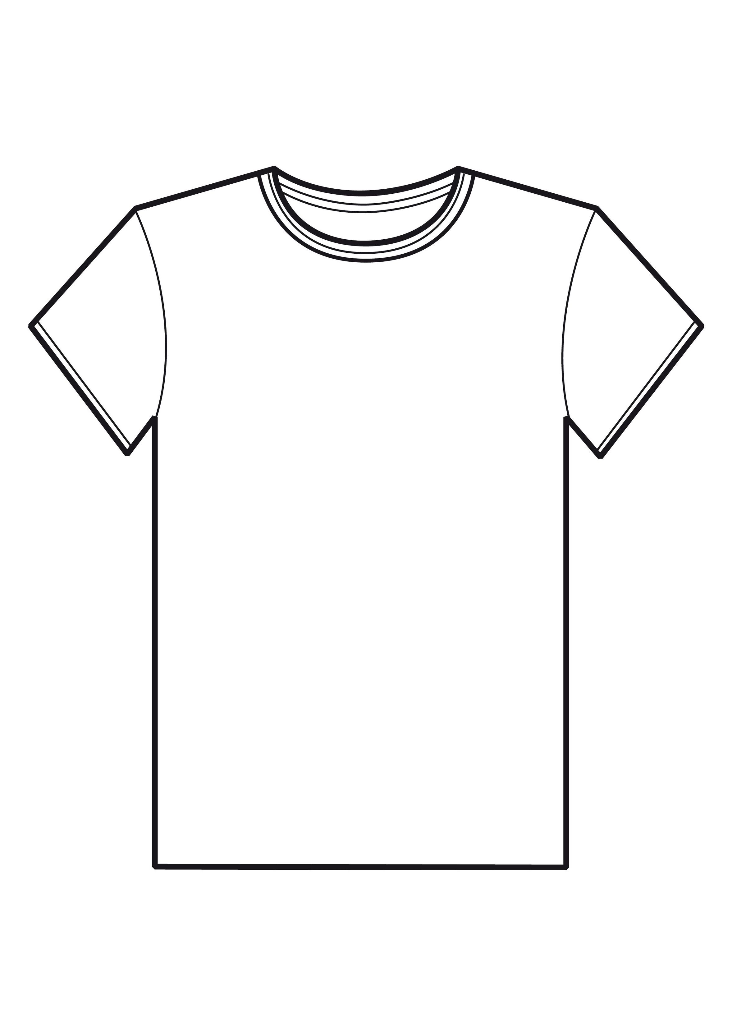 t shirt clipart black and .-t shirt clipart black and .-10