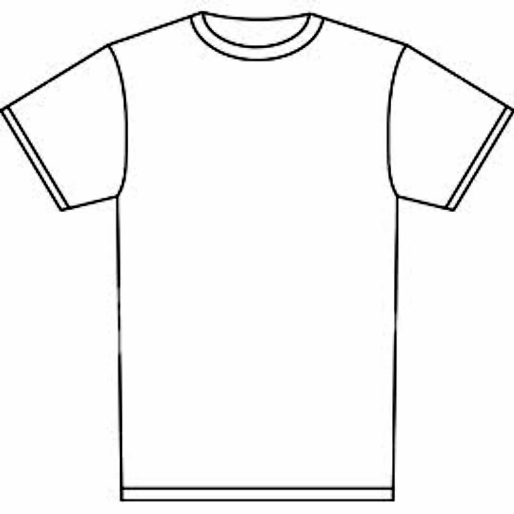 ... T-shirt Outline Clipart ...-... T-shirt Outline Clipart ...-9