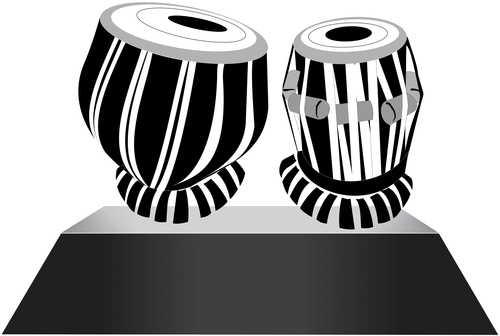 tabla clipart black and white - Tabla Clipart