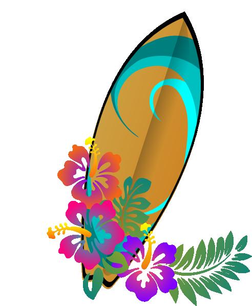 Tabla Surf Clip Art At Clker Com Vector Clip Art Online Royalty