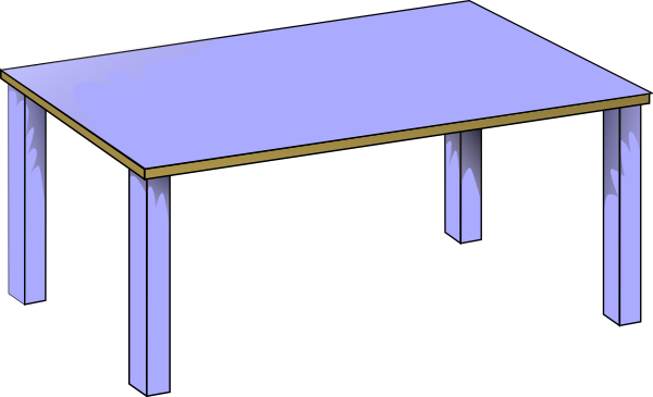 Table Clip Art