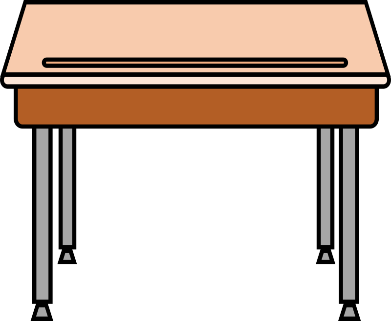 school table clipart 5
