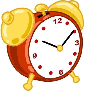 Table Clock Clip Art