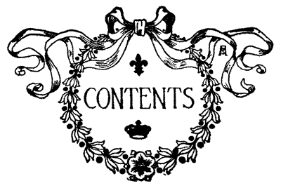 Table of Contents Clip Art Free