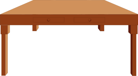 Table Transparent Clipart