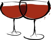 Table Wine Clipart