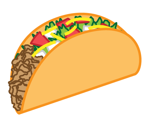 Walking Taco Taco Cartoon Wal