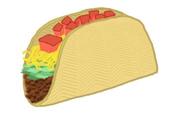 Taco clip art clipart taco cl - Clip Art Taco