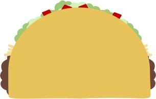 Cartoon taco clip art 3 clipa