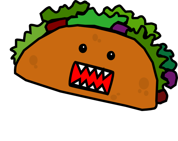Taco clipart free clipart images 2