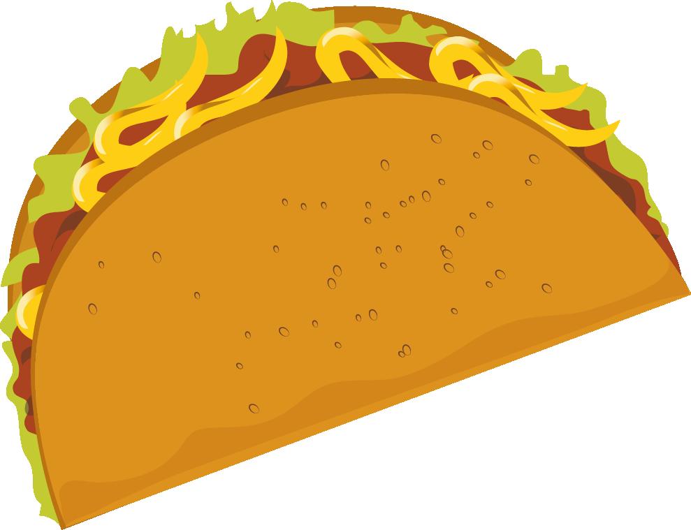 Taco4 - Taco Clipart Free