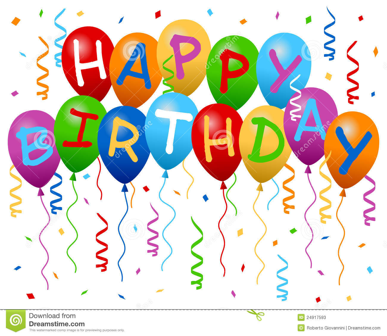15 Free Happy Birthday Clipart Graphics ClipartLook