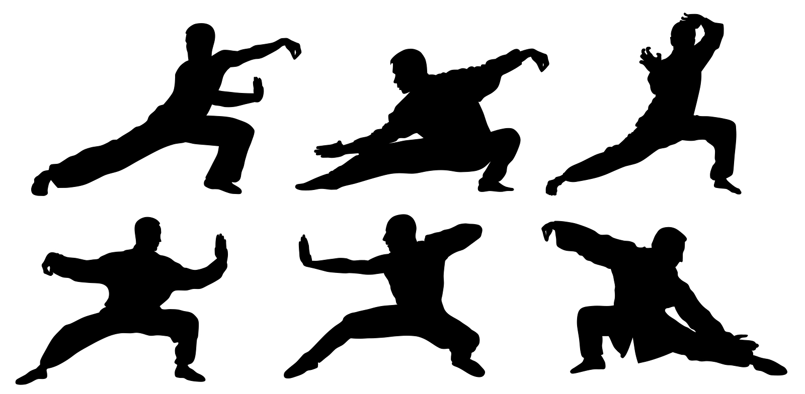 cartoon chinese Kung fu icon