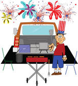 Tailgate Clipart And Illustrations-Tailgate clipart and illustrations-11