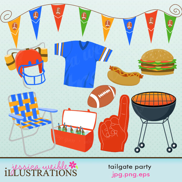 Tailgate Food Clipart-Tailgate Food Clipart-15