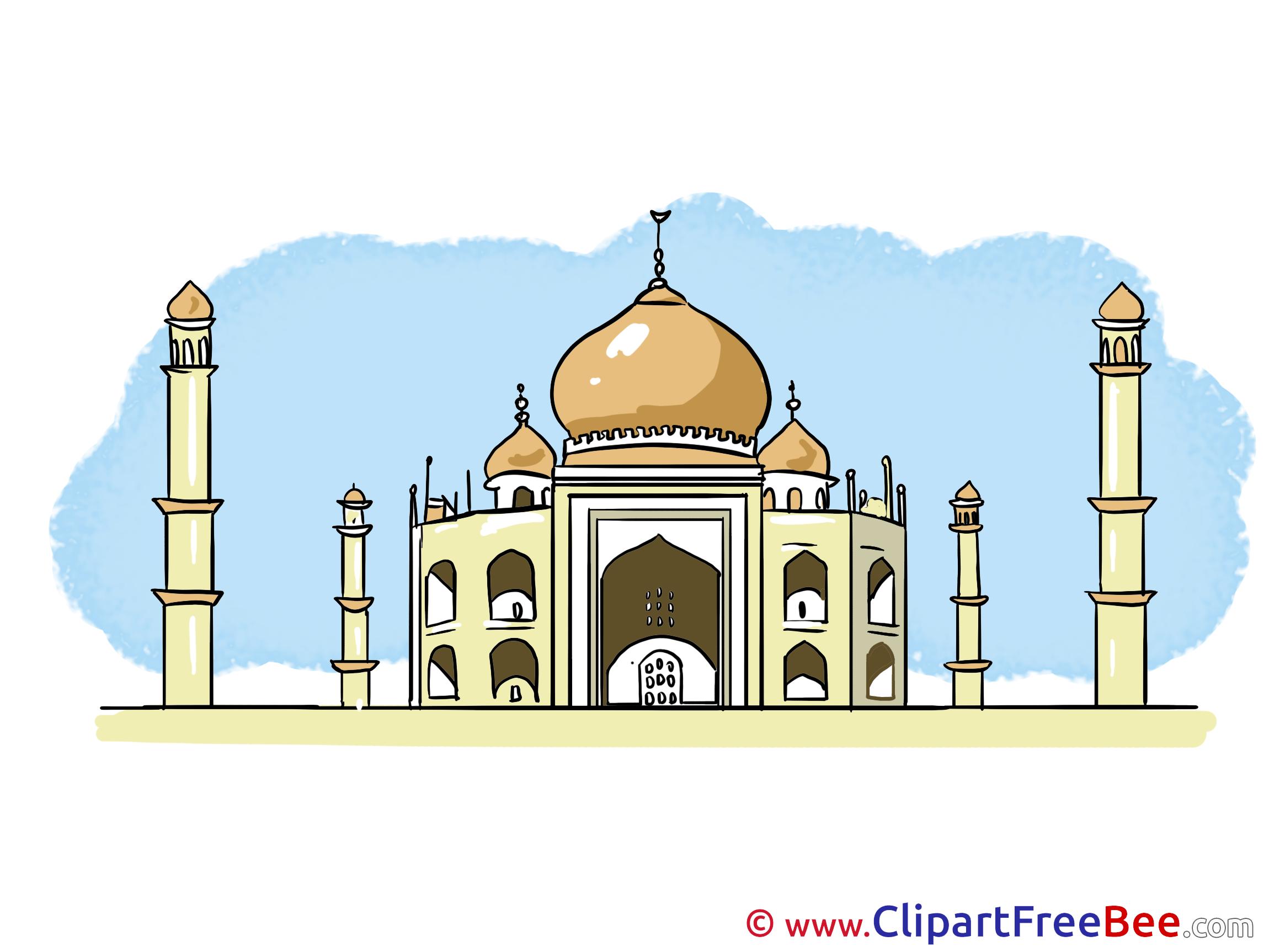 Taj Mahal Clipart-Clipartlook - Taj Mahal Clipart
